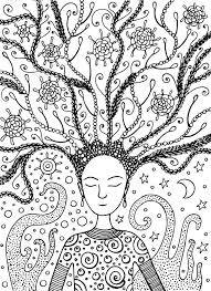 Awesome Of Hair Coloring Pages Stock Printable Coloring Pages