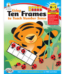 using ten frames to teach number sense resource book image