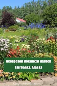 georgeson botanical garden in fairbanks alaska alaska fairbanks garden