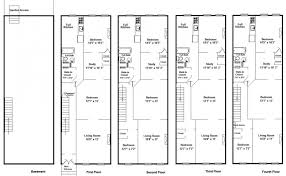 brownstone row house plans   Container House DesignBrownstone House Plans In Bright Side Of Brownstone Floor Plans