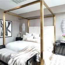 Unique Canopy Beds Bedroom Traditional Medium Tone Wood Floor ...