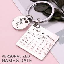 dels about new personalized gifts for him husband boyfriend men anniversary keyring gift k4