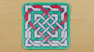 How To Draw Graph Paper Knots Heart Knot Celtic Mandala Doodle