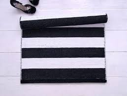 cotton runner rugs lovable cotton runner rug washable with black and white striped woven cotton rug