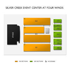 Silver Creek Event Center At Four Winds Tickets