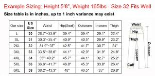 Asian Clothing Size Chart To Us Mountainskin Mens Waterproof Winter Pants