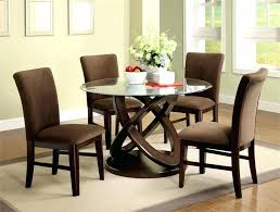 round glass dining table and chairs furniture circle dining table decor unbelievable ideas collection best round