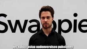 Sami Marttinen - CEO Co Founder Padi OWD - Laitesukelluksen peruskurssi - Sea Safety Used and serviced smart phones - Sitra