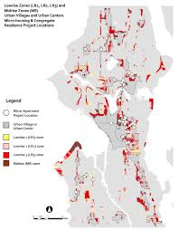 Small Picture Look at the Amount of Space in Seattle Dedicated to Single Family