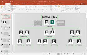 Excel Family Tree Template Family Tree Template For Excel