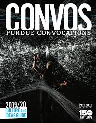 Purdue Elliott Hall Seating Chart Purdue Convocations 2019 20 Culture And Ideas Guide By