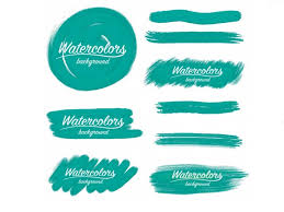 free watercolor brushes illustrator free watercolors 29 textures objects logos patterns graphicmama blog