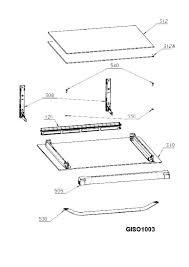 94418407200 oven door spare parts diagram