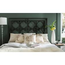 safavieh silva gunmetal king headboardfoxbk  the home depot