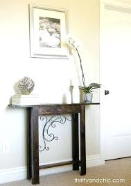 very narrow hall table. Thin Hallway Table Fantastic Narrow With Best Decorating Ideas On . Very Hall T