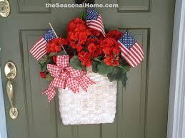 patriotic wreaths for front doorSpring Decoration Ideas  Spring Decorating Ideas  Decorative