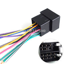 online buy whole saab radio wiring harness from saab universal female iso radio wire wiring harness adapter connector car adaptor plug for volkswagen citroen