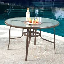 tempered glass patio table replacement for clips retainer 48 inch round top tempered glass patio table black charming