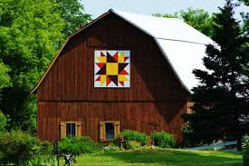 Collections by Carol: Quilt Barn Art - Shawano County - Wisconsin & Several weeks ago, we spent a whole day chasing around the country side  hunting the Barn Quilts of Shawano County. Most of the roads and locations  listed in ... Adamdwight.com