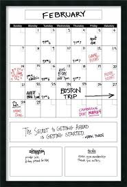 dry erase calendar whiteboard