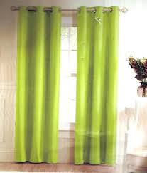 lime green blackout curtains 2 lime green solid grommet foam lined blackout window curtain regarding endearing