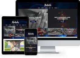 Shahala Free Html5 News Blog Template Freehtml5 Co