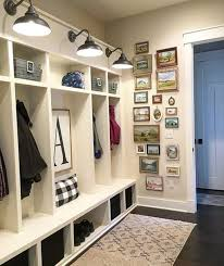 Decorating: DIY Small Mudroom In The Wall - Mudrooms