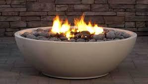 gas fire bowl outdoor pits nz stone artisan gas fire bowl