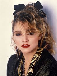 madonna makeup tutorial 80s