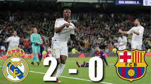 Real Madrid vs Barcelona [2-0], El ...