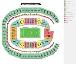 Atlanta Falcons Seating Chart With Rows Falcons Stadium Seating Chart Seating Chart