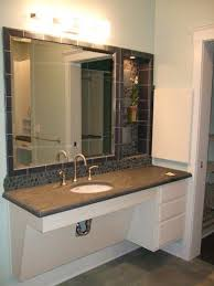 72 Inch Bathroom Vanity Double Sink Adorable Ada Bathroom Vanity AGING In PLACE Ideas Pinte