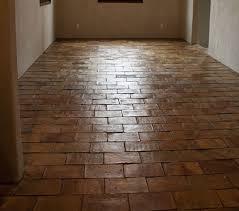 antique parrefeuille terracotta tiles