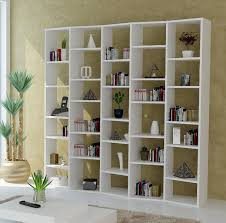 ... Inspiring Modern Shelving Units Contemporary Display Shelves White  Shelving With Decorations Books Pot Plant ...