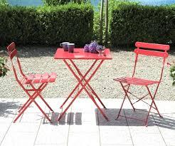 3 Pc Bistro Table Set In Antique Bronze Tea Rose  Contemporary Bistro Furniture Outdoor