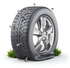 flat tires clipart. Interesting Flat Flat Tire Stock Photo  48208781 And Tires Clipart G