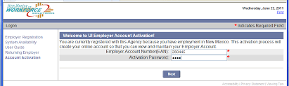 Payrr€.nt method employment information provide your employers unemployment insurance employer account number (ean): 2
