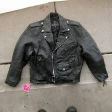 Interstate Leather Jacket Size Chart Leather Motorcycle Jackets For Sale Ebay