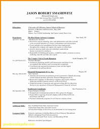 First Job Resume No Experience Template Inspirational First Time