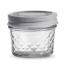4 oz. Quilted Jelly Jars - Kitchen Krafts & Quilted Jelly Jars, 4 oz., 12/case Adamdwight.com