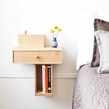 The Traditional Bedside Table Is A Space Hog That Offers Little Storage In  Return. For Small Spaces, Consider A Better Bedside Companion: The Wall  Mounted ...