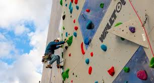 the tallest climbing walls in the world