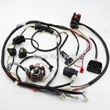 online get cheap cdi stator aliexpress com alibaba group buggy wiring harness loom gy6 cdi electric start stator 8 coil ngk spark plug switch engine 150cc quad atv go kart kandi dazon