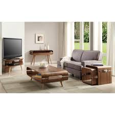 Walnut Furniture Living Room Jupiter Corner Tv Stand In Walnut