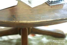 how to restain wood without stripping refinishing wood table without stripping refinishing