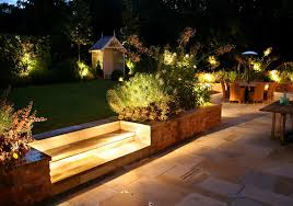 garden lighting ideas. ambient garden lighting landscape ideas
