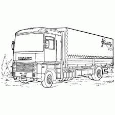 Daf Vrachtwagen Kleurplaat