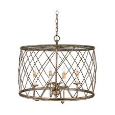 drum pendant light with silver cage shade century leaf finish drum pendant lighting ikea l68 lighting