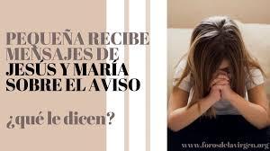 """Foros Virgen María on Twitter: """"🎬 Hay un caso actual, una niña, un almita  víctima mexicana de 9 años, que en el 2021 recibe y ve a Nuestro Señor  Jesucristo. Aquí te"""