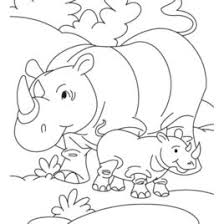 Small Picture Coloring Pages Of Animals With Their Babies Archives Mente Beta